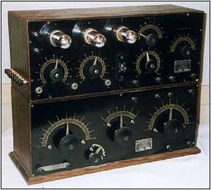 An early, rare Zenith Paragon PAR and AGN-2 detector and amplifier unit