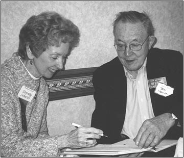 Bob Merriam and A.R.C. Managing Editor Dorothy Schecter