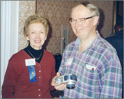Alan Douglas and A.R.C. Managing Editor Dorothy Schecter