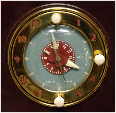 he clock face of the GE Model 64