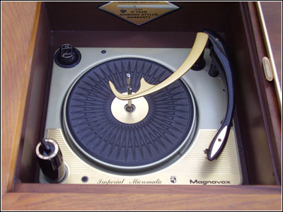 British Collaro with an Electro-Voice ceramic cartridge