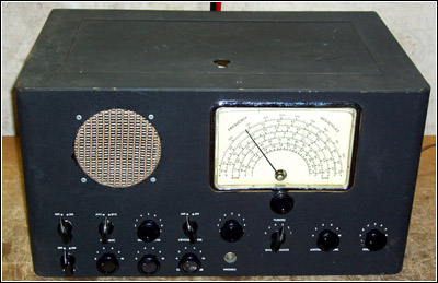 The metal Coast Guard communications receiver Model R-138