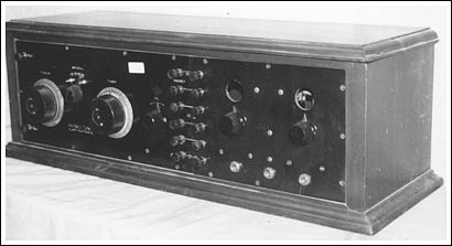The Haynes-Griffin DX receiver.