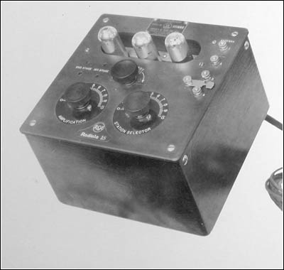 Three-tube Radiola 18 prototype