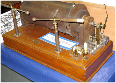 Marconi induction coil transmitter