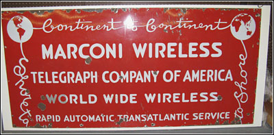 Another Marconi sign