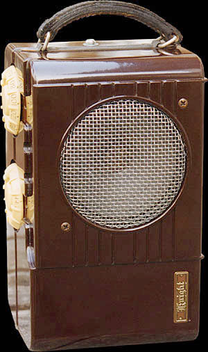 Allied Radio version of the Sonora Candid radio