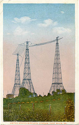 United States Wireless Station, Fort Myer, VA.