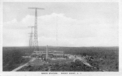 Radio Station, Rocky Point, L.I.