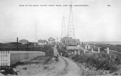 Radio Station, North Truro, Cape Cod, Massachusetts.