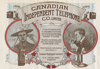 Canadian Independent Telephone Co. telephone equipment