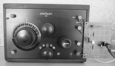 The familiar Crosley Model 50 1-tube receiver of 1925