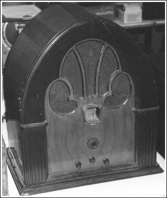 a Philco 70 cathedral
