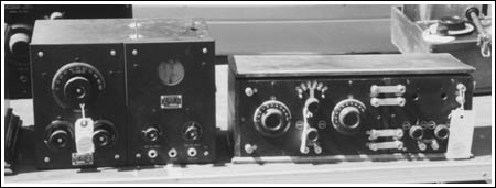 Westinghouse RC (left) and a Tuska 225