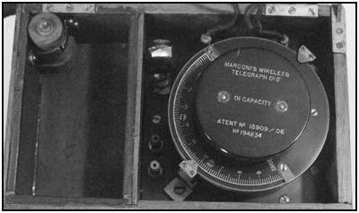 A closeup of the Wavemeter