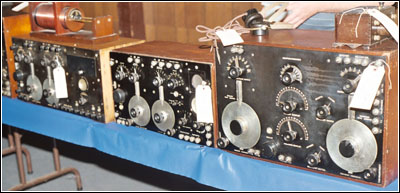 Early wireless sets from Wireless Specialty