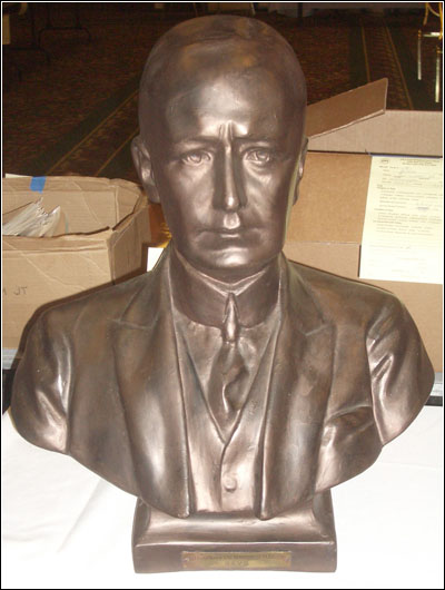 Bust of Marconi