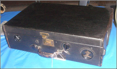 1924 Zenith portable Model ZEV