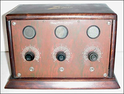 Zenith Model 3M 3-tube amplifier