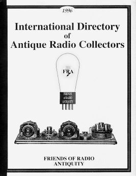 Cover of International Directory of Antique Radio Collectors