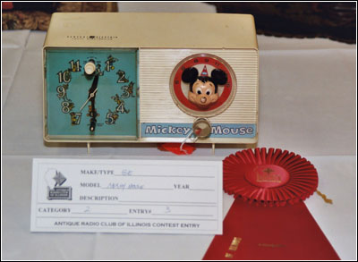 General Electric Mickey Mouse clock radio