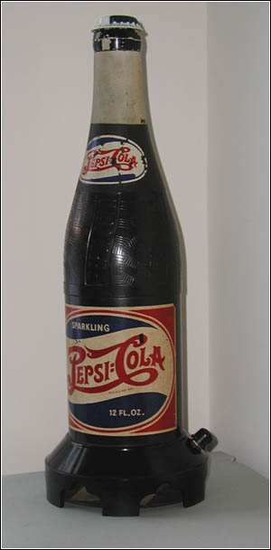 The Pepsi-Cola novelty radio