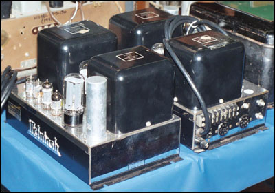 McIntosh M-30, Type A116B amplifiers