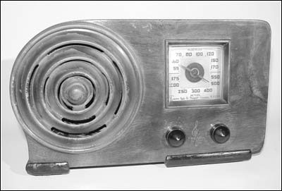 "A front view of the Emerson Model AX-212 ""Little Miracle"""