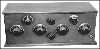 A 4-tube regenerative receiver
