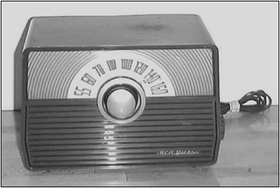 The restored radio