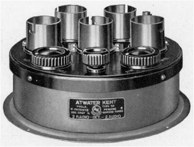 The 5-tube TA unit (Type 4330) used on the Model 8