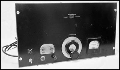A front view of the Western Electric Primary Frequency Standard