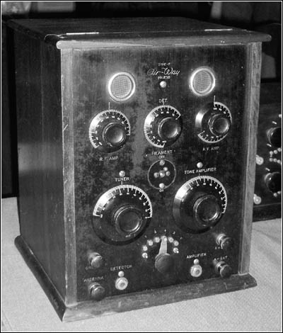Air-Way Type F 4-tube receiver