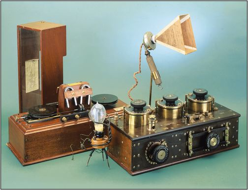 Group of Marconi equipment