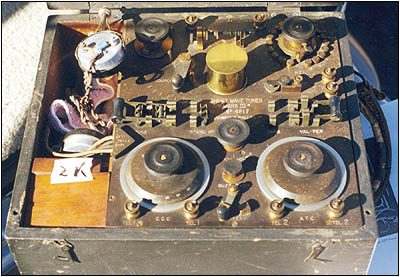 British Mark III shortwave tuner