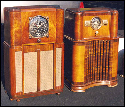 Two Zenith consoles