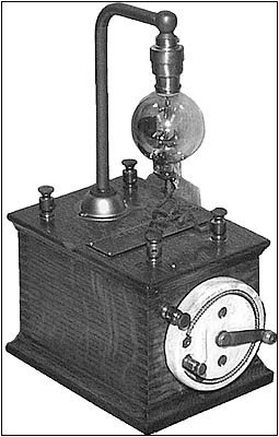 Display of a DeForest Audion tube