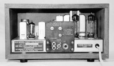 chassis view of the receiver