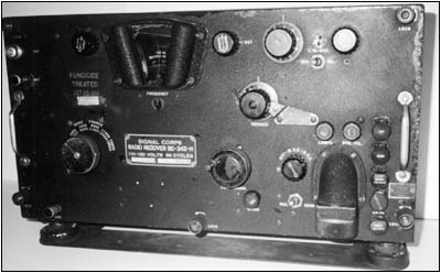 My Signal Corps radio receiver, Model BC-342