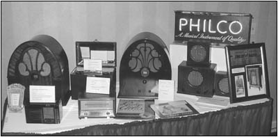 The large Philco display