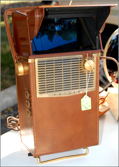 Philco Safari portable television