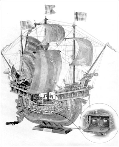 A very large Venetian Merchantman