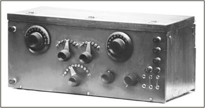 Figure 3. The 2-tube Reinartz receiver.