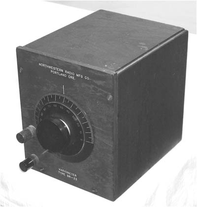 Northwestern Radio Manufacturing Co. variometer, Type SR-23