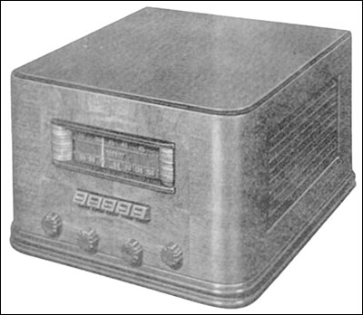 Crosley recommended the use of its Model 1758A high fidelity, 2-band radio