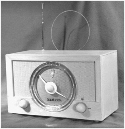 The Zenith tabletop shortwave receiver