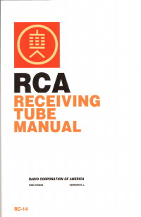 rca rc14 tube manual